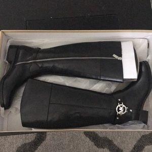 Michael kors size 6 black boots
